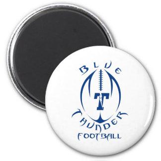 Optimist Youth Football Blue Thunder Under 12 Fridge Magnet