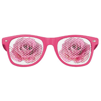 Optimists Rose Colored Party Glasses