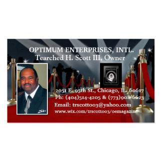 Optimum Enterprises Business Card