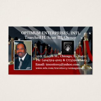 Optimum Enterprises Business Card