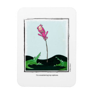 OPTIONS cartoon by Ellen Elliott Rectangular Photo Magnet