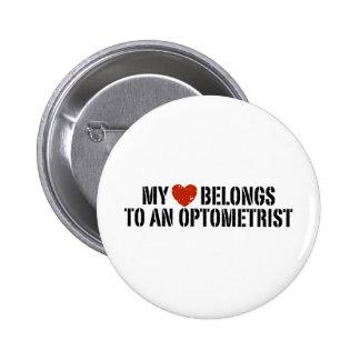 Optometrist 6 Cm Round Badge