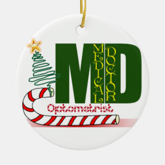 OPTOMETRIST CHRISTMAS ORNAMENT MD DOCTOR