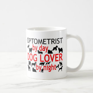 Optometrist Dog Lover Classic White Coffee Mug