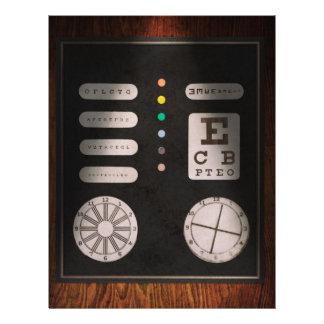 Optometrist - Optical Confusion Custom Flyer
