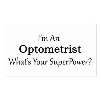 Optometrist Pack Of Standard Business Cards