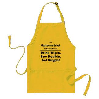 optometrist standard apron