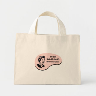 Optometrist Voice Canvas Bag