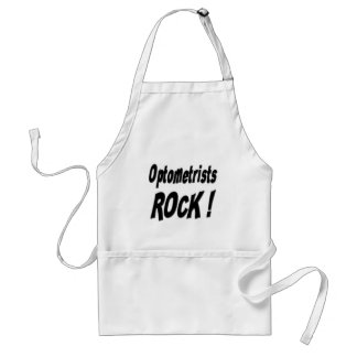 Optometrists Rock! Apron