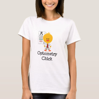 Optometry Chick T shirt
