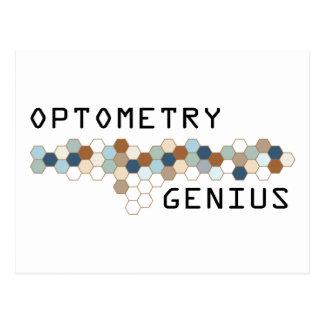 Optometry Genius Postcard