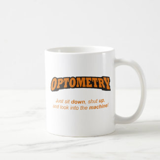 Optometry / Machine Coffee Mug