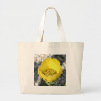 Opuntia Ficus-Indica Prickly Pear Flower Tote Bags