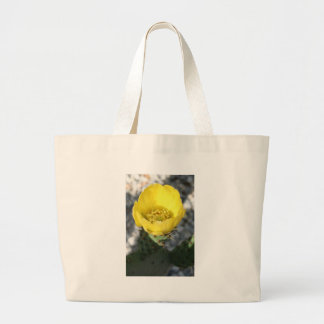 Opuntia Ficus-Indica Prickly Pear Flower Tote Bag