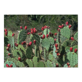 Opuntia Fruits 5x7 Paper Invitation Card