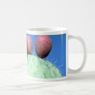 Opuntia megacantha (prickly pear) Desert Coffee Mug