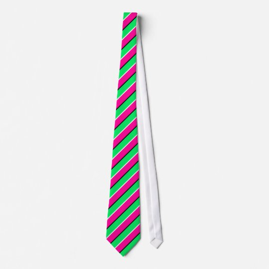 OPUS Complementary purple green diagonal striped Tie
