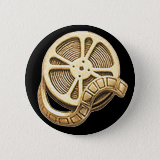 OPUS Gold Film Reel 6 Cm Round Badge