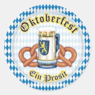 OPUS Oktoberfest Round Stickers