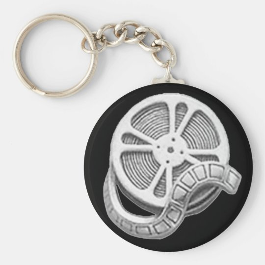 OPUS Silver Film Reel Key Ring