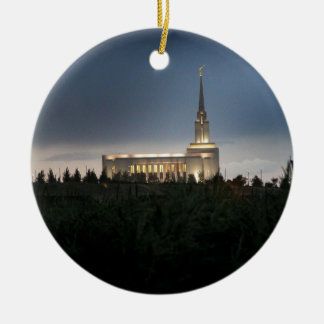 oquirrh mountain lds utah temple christmas ornament