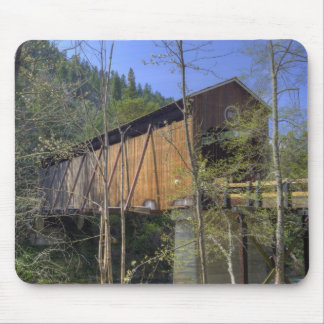 OR, Jackson County, McKee Covered Bridge 2 Mouse Pad