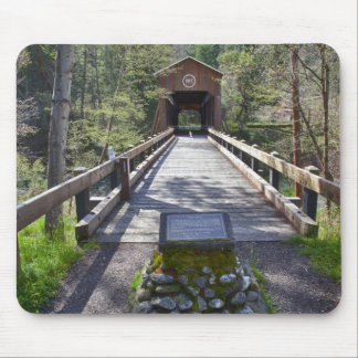 OR, Jackson County, McKee Covered Bridge Mouse Pad