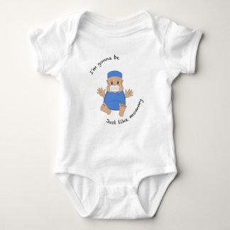 OR mommy Baby Bodysuit