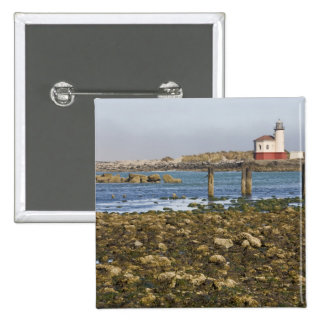 OR, Oregon Coast, Bandon, Coquille River 15 Cm Square Badge