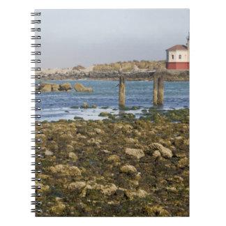 OR, Oregon Coast, Bandon, Coquille River Spiral Notebook