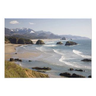 OR, Oregon Coast, Ecola State Park, Crescent Art Photo