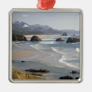 OR, Oregon Coast, Ecola State Park, Crescent Christmas Ornament