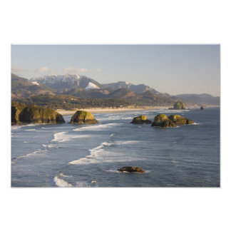 OR, Oregon Coast, Ecola State Park, view of Photo Print