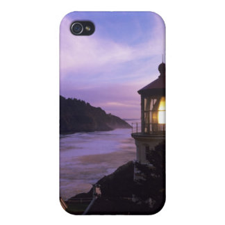 OR, Oregon Coast, Heceta Head Lighthouse, on iPhone 4/4S Cover