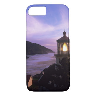 OR, Oregon Coast, Heceta Head Lighthouse, on iPhone 7 Case