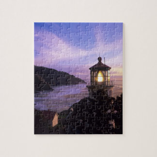 OR, Oregon Coast, Heceta Head Lighthouse, on Jigsaw Puzzle