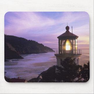 OR, Oregon Coast, Heceta Head Lighthouse, on Mouse Mat