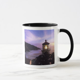 OR, Oregon Coast, Heceta Head Lighthouse, on Mug