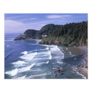 OR, Oregon Coast, Heceta Head Lighthouse, on Photograph