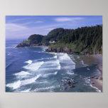 OR, Oregon Coast, Heceta Head Lighthouse, on Print