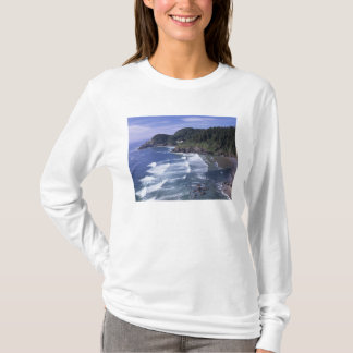 OR, Oregon Coast, Heceta Head Lighthouse, on T-Shirt