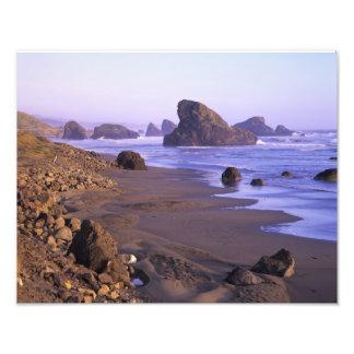 OR, Oregon Coast, Myers Creek, rock formations Photo