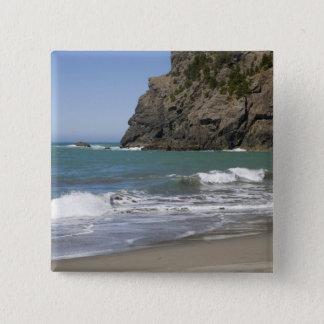 OR, Oregon Coast, Whaleshead Beach, South 15 Cm Square Badge