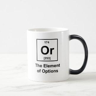 Or, The Element of Options Magic Mug