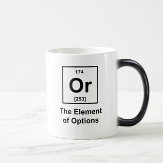 Or, The Element of Options Morphing Mug