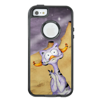 ORAGON ALIEN CARTOON Apple iPhone SE/5/5  CS