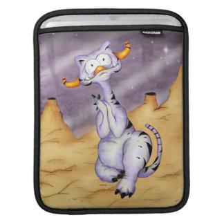 ORAGON ALIEN CARTOON  iPAD  VERTICAL iPad Sleeve