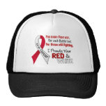 Oral Cancer I Proudly Wear Red and White 1