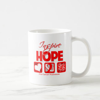 Oral Cancer Inspire Hope Mugs