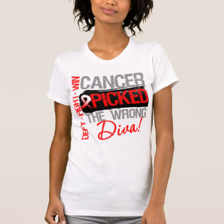 Oral Cancer Picked The Wrong Diva Tee Shirts